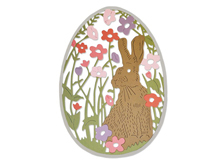 E662511 Troquel THINLITS Meadow Rabbit by Sophie Guilar Sizzix