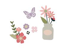 E662514 Set 17 troqueles THINLITS Garden Florals by My Life Handmade Sizzix