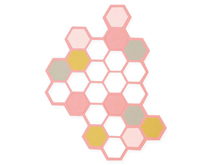 E662517 Set 2 troqueles THINLITS Hexagons by Samantha Barnett Sizzix