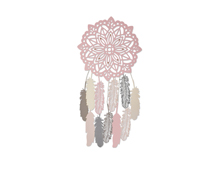 E662548 Set 5 troqueles THINLITS PLUS Large dream catcher by Sophie Guilar Sizzix