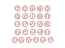 E662551 Set 26 troqueles THINLITS Dainty Uppercase by Debi Potter Sizzix