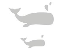 E662553 Troquel BIGZ L Whale by Samantha Barnett Sizzix - Ítem2