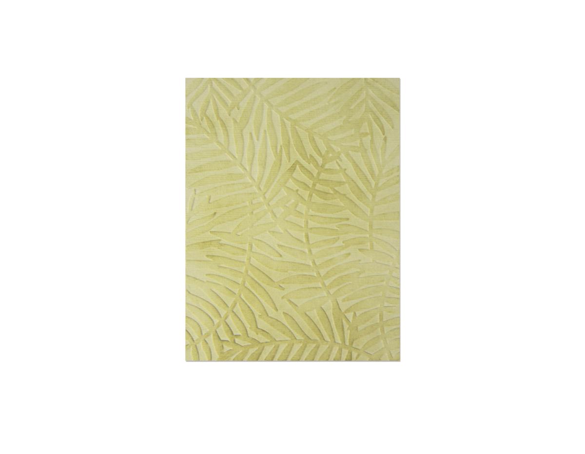 E662557 Placa de textura TEXTURED IMPRESSIONS Tropical leaf by Sophie Guilar Sizzix