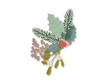 E662571 Set 8 troqueles THINLITS Winter foliage by Debi Potter Sizzix