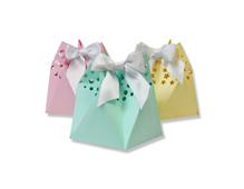 E662583 Set 5 troqueles THINLITS Star gift bag by Sharon Drury Sizzix