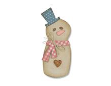 E662584 Troquel BIGZ Snowman by Samantha Barnett Sizzix