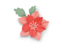 E662586 Troquel BIGZ Winter rose by Debi Potter Sizzix