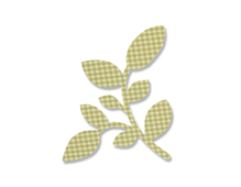 E662588 Troquel BIGZ Camellia leaf by Sharon Drury Sizzix