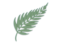 E662603 Troquel THINLITS Elegant leaf by Pete Hughes Sizzix