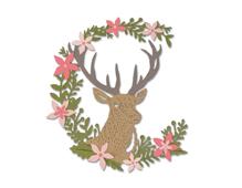E662634 Set 5 troqueles THINLITS Deer by Sophie Guilar Sizzix