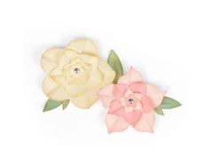 E662636 Set 12 troqueles FRAMELITS Floral frames Sizzix