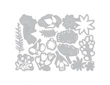 E662702 Set 15 troqueles THINLITS Funky floral 3 by Tim Holtz Sizzix - Ítem2
