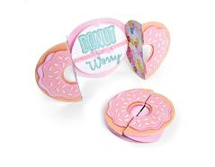 E662725 Set 9 troqueles THINLITS Card donut fold a long by Jen Long Sizzix