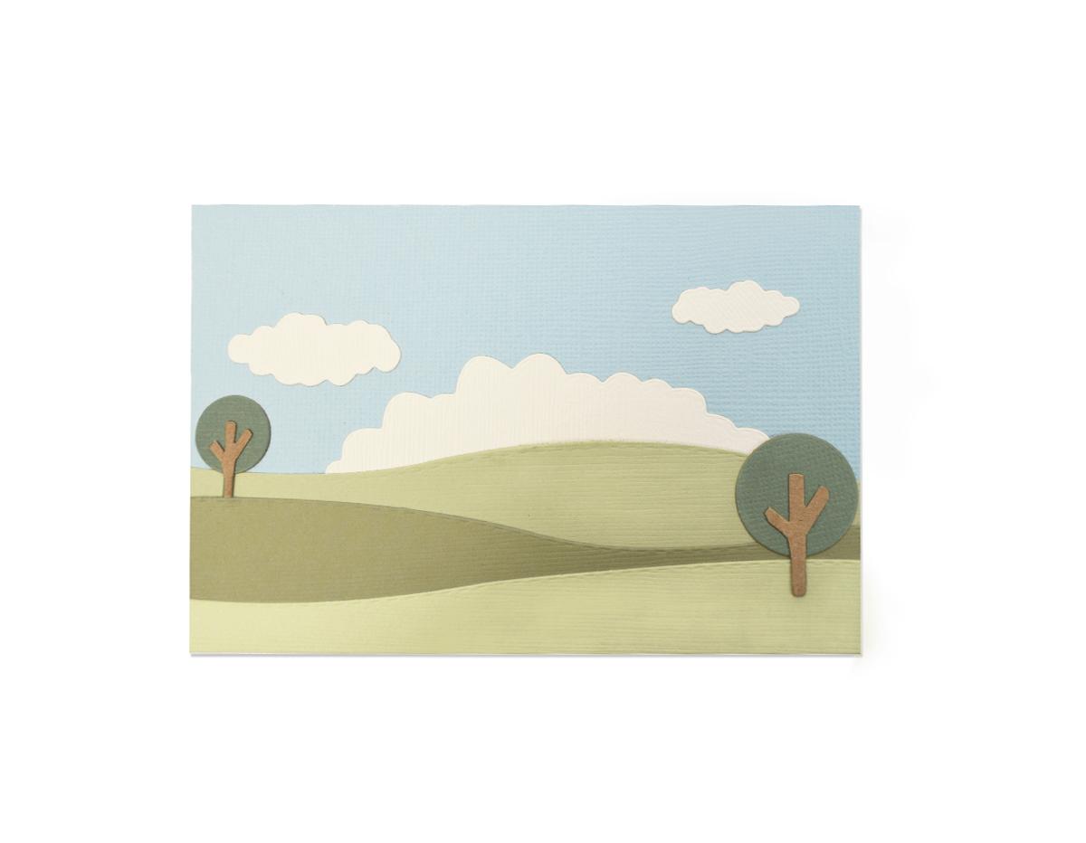 E662839 Set 8 troqueles THINLITS Build a landscape by Emily Tootle Sizzix
