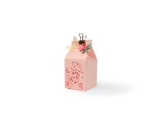 E662857 Set 6 troqueles THINLITS Floral Favour Box Sizzix