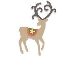 E662867 Troquel BIGZ Graceful reindeer Sizzix