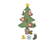E662969 Troquel BIGZ PLUS Christmas tree 2 Sizzix