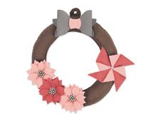 E662972 Troquel BIGZ PLUS Hanging wreath Sizzix