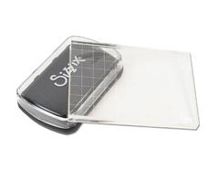 E663006 Set almohadilla tinta negra y bloque acrilico Sizzix