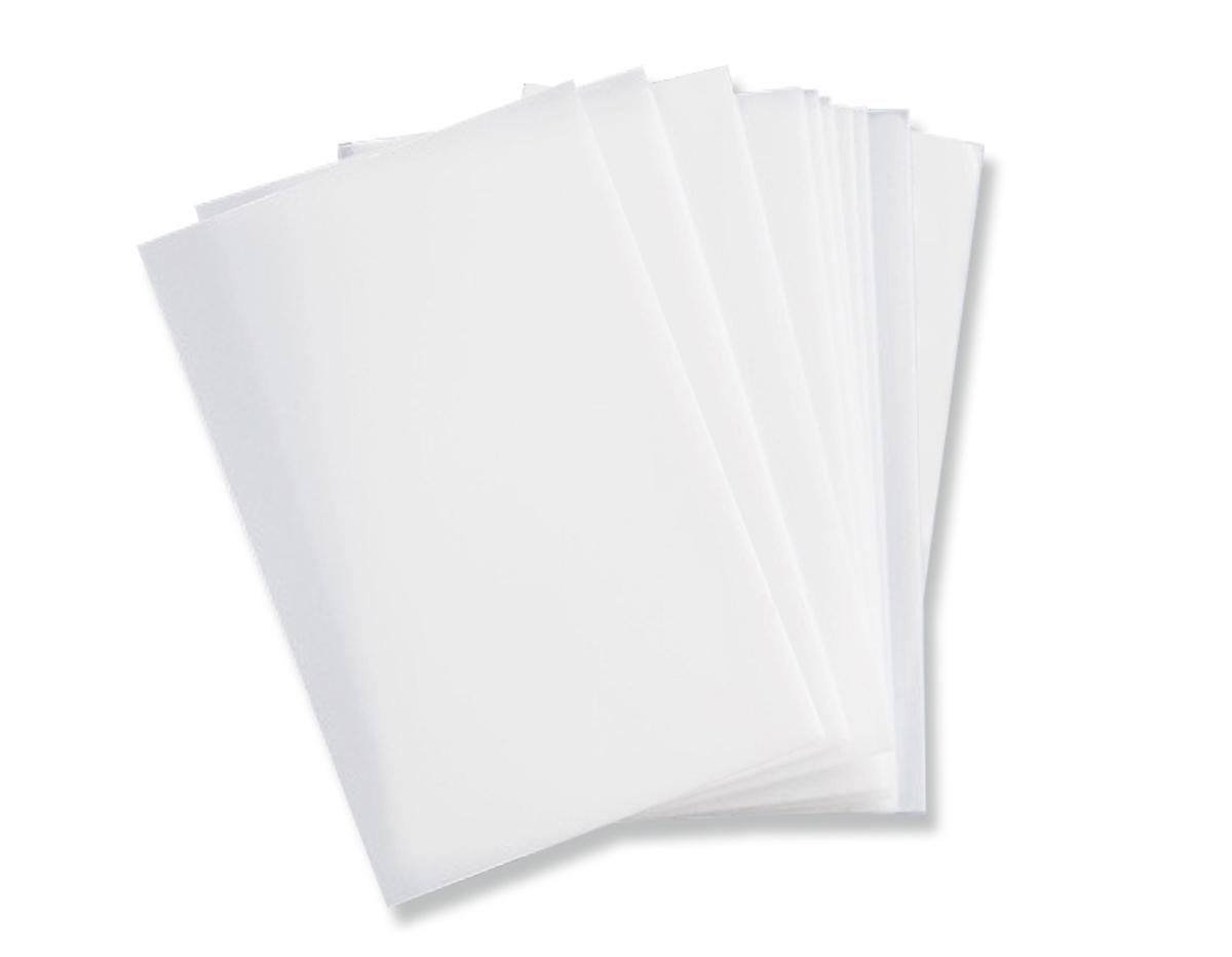 E663053 Set 10 hojas transparentes para crear plantillas A4 Sizzix