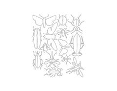 E663068 Set 14 troqueles FRAMELITS Entomology by Tim Holtz Sizzix - Ítem2