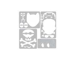 E663072 Mini set 4 troqueles THINLITS con 1 TEXTURED IMPRESSIONS Halloween by Tim Holtz Sizzix - Ítem3