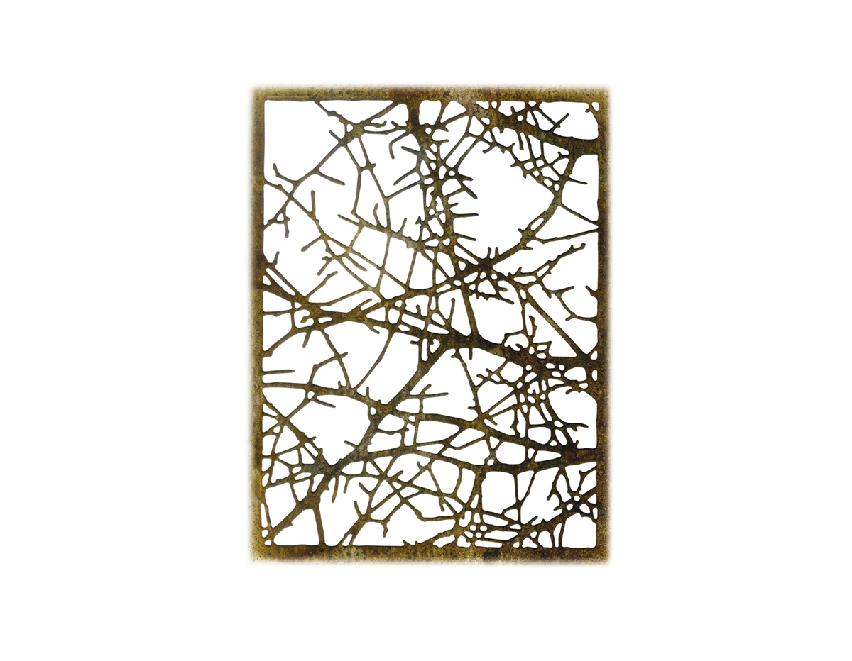 E663086 Troquel THINLITS Tangled twigs by Tim Holtz Sizzix