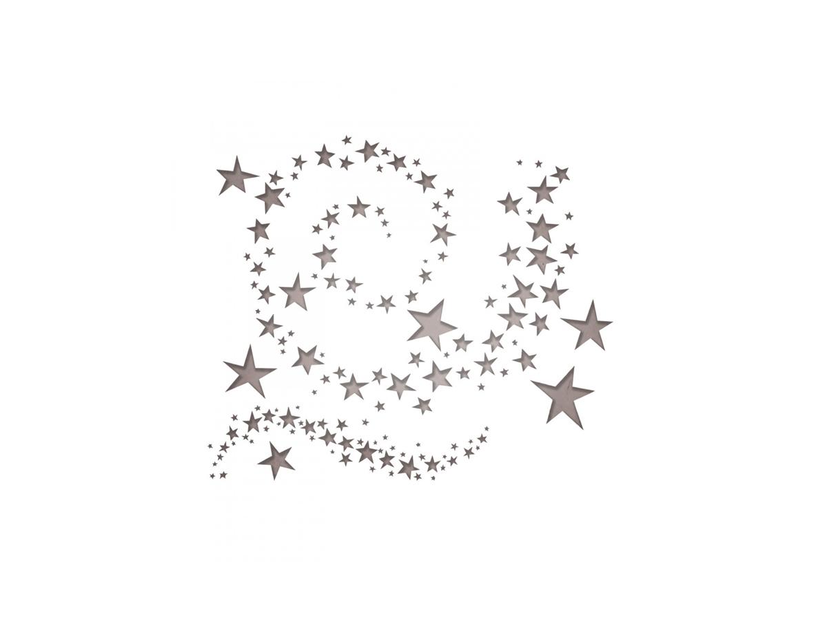 E663095 Set 9 troqueles THINLITS Swirling stars by Tim Holtz Sizzix