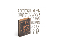 E663096 Set 44 troqueles THINLITS Treat bag by Tim Holtz Sizzix