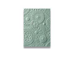 E663206 Placa de textura 3D TEXTURED IMPRESSIONS Mosaic gems by Courtney Chilson Sizzix