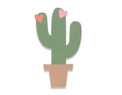 E663238 Troquel BIGZ Cactus by Samantha Barnett Sizzix