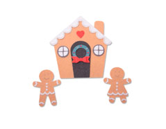 E663325 Troquel BIGZ PLUS Gingerbread House by Jennifer Ogborn Sizzix