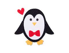 E663406 Troquel BIGZ Penguin 2 by Olivia Rose Sizzix