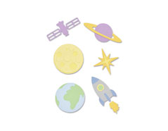 E663414 Set 11 troqueles THINLITS Space by Emily Tootle Sizzix