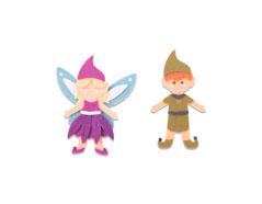 E663495 Troquel BIGZ L Elf and fairy Sizzix