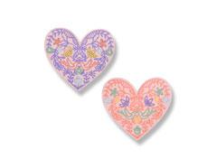 E663582 Set 10 troqueles THINLITS Lace heart by Katelyn Lizardi Sizzix