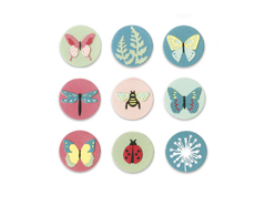 E663590 Set 10 troqueles THINLITS Tiny nature by Lynda Kanase Sizzix