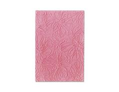 E663601 Placa de textura 3D TEXTURED IMPRESSIONS Azaleas by Courtney Chilson Sizzix