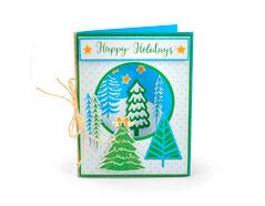 E663684 Set 9 troqueles FRAMELITS CON SELLOS Winter trees by Jordan Caderao Sizzix