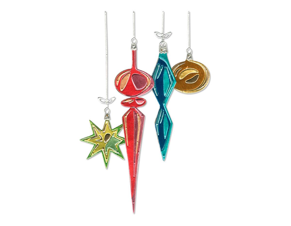 E664197 Set 17 troqueles THINLITS Hanging ornaments by Tim Holtz Sizzix