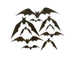 E664203 Set 10 troqueles THINLITS Bat crazy by Tim Holtz Sizzix