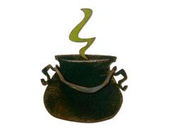 E664214 Troquel BIGZ Cauldron by Tim Holtz Sizzix