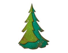 E664217 Troquel BIGZ Layered pine by Tim Holtz Sizzix