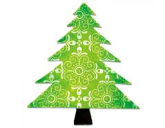 EA10195 Troquel BIGZ Tree Christmas articulo essential Sizzix