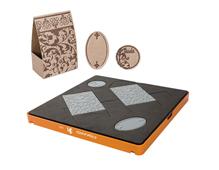 F0103 Troquel formas basicas grande Caja regalo Fiskars