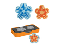 F0240 Troquel formas basicas mini Flor Fiskars