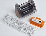 F5568 Set de tampon tinta y rueda iniciacion Fiskars - Ítem2