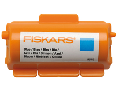 F5578 Tinta para rodillo tampones continuos azul Fiskars