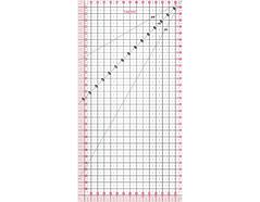 F8733 Regla acrilica rectangular Fiskars