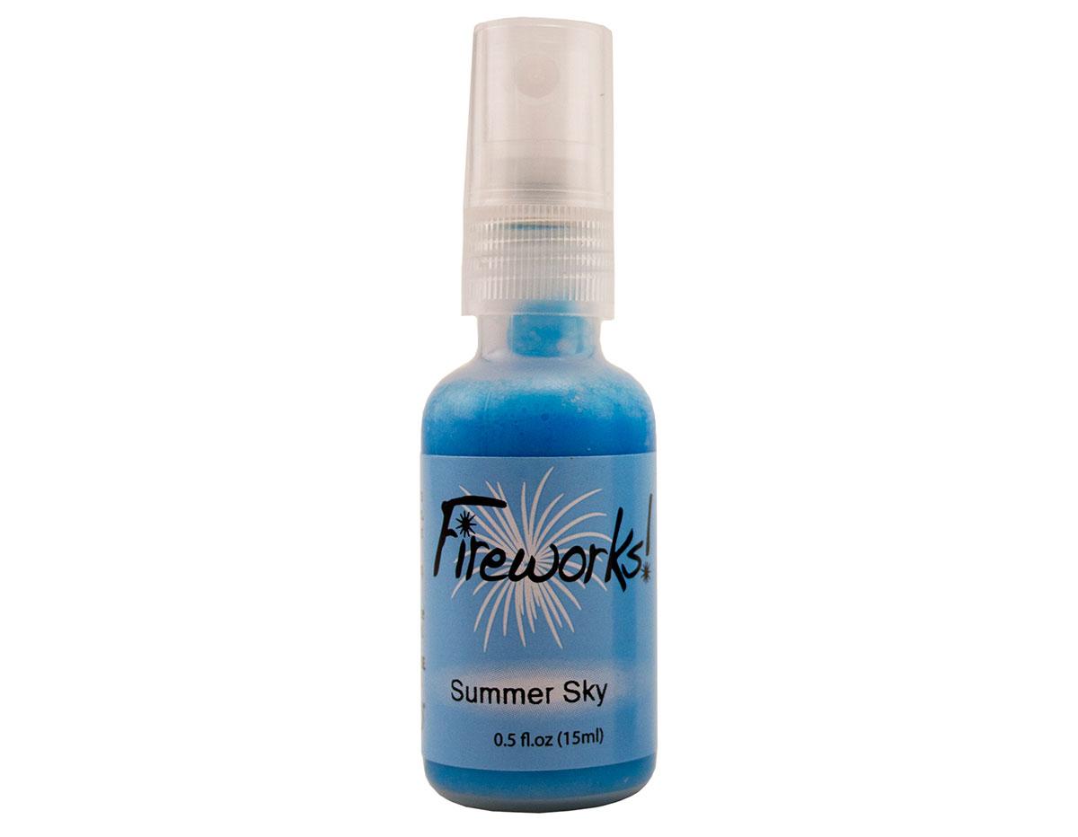 FW-000-604 Tinta color cielo de verano brillante Fireworks!